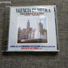 CDs de Música: CD VALENCIA ES MUSICA - BANDA MUNICIPAL DE VALENCIA - JUAN GARCES - PRECINTADO / NUEVO !!. Lote 262146970