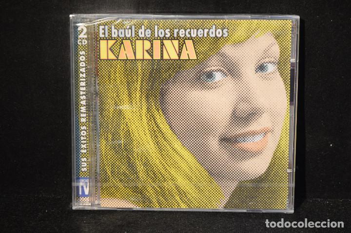 KARINA - EL BAUL DE LOS RECUERDOS - SUS EXITOS REMASTERIZADOS - 2 CD (Música - CD's Pop)