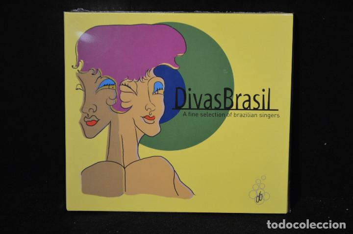 VARIOS - DIVAS BRASIL (A FINE SELECTION OF BRAZILIAN SINGERS) - 2 CD (Música - CD's Latina)