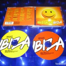 CDs de Música: BACK TO THE OLD SKOOL IBIZA - 2 CD - MOSCD41 - MINISTRY OF SOUND - MOLOKO - STORM - UNDERWORLD .... Lote 147361742