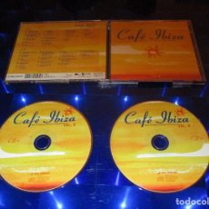 CDs de Música: CAFE IBIZA BEST OF BALEARIC AMBIENT & CHILL OUT MUSIC ( VOL. 6 ) - 2 CD - 876 953-2 - GLOBE. Lote 147362598