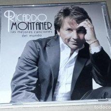 CDs de Música: CD - RICARDO MONTANER - LAS MEJORES CANCIONES DEL MUNDO. Lote 147367218