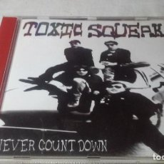 CDs de Música: TOXIC SQUEAK -NEVER COUNT DOWN- CD ROCK ESPAÑOL (BURGOS-VILLARCAYO). Lote 147375254