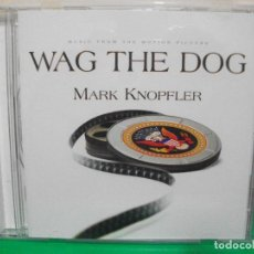 CDs de Música: BSO - MARK KNOPFLER WAG THE DOG CD UK 1998 PDELUXE. Lote 147377122