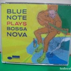 CDs de Música: VARIOS - BOSSA NOVA BLUE NOTE PLAYS BOSSA NOVA CD UK 2008 PDELUXE. Lote 147380866