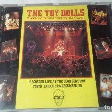 CDs de Música: THE TOY DOLLS -TWENTY TUNES LIVE FROM TOKYO- CD PUNK,ROCK. Lote 147384038