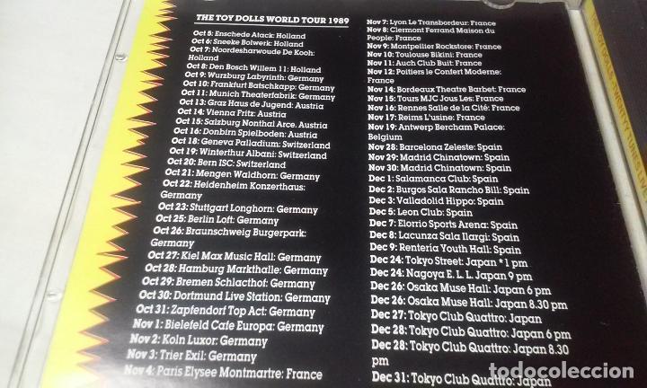 CDs de Música: THE TOY DOLLS -TWENTY TUNES LIVE FROM TOKYO- CD PUNK,ROCK - Foto 3 - 147384038