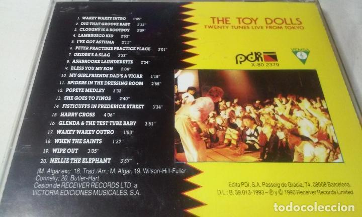 CDs de Música: THE TOY DOLLS -TWENTY TUNES LIVE FROM TOKYO- CD PUNK,ROCK - Foto 5 - 147384038