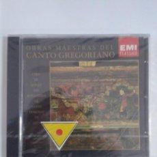CDs de Música: OBRAS MAESTRAS DEL CANTO GREGORIANO. AUDIOLIBRO DE CANTO GREGORIANO. PRECINTADO. Lote 147388106