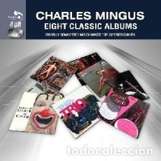 Music CDs - CHARLES MINGUS: EIGHT CLASSIC ALBUMS (4 CDs) Música interpretada por CHARLES MINGUS - 147439246