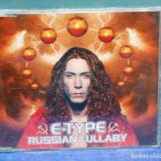 CDs de Música: LMV - E-TYPE. RUSSIAN LULLABY. CD-MAXI. Lote 147444426