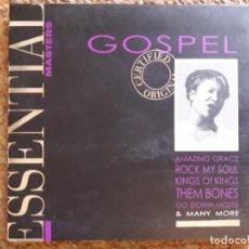 CDs de Música: ESSENTIAL MASTERS , GOSPEL , CD VARIOS ARTISTAS. Lote 147460470