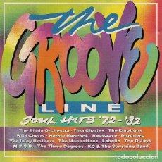 CDs de Música: THE GROOVE LINE **SOUL HITS '72-'82 . Lote 147462474
