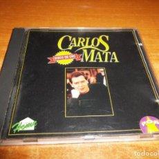 CDs de Música: CARLOS MATA DISCO DE ORO CD ALBUM DEL AÑO 1994 ESPAÑA MUY RARO CONTIENE 10 TEMAS. Lote 147474146