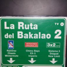 CDs de Música: CAJA LA RUTA DEL BACALAO 2 ( 4 CD' S) SISTEMA 3, DSIGUAL, NEW LIMIT, CHIMO BAYO, RAMIREZ, CHASIS. Lote 147475930