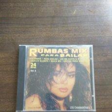 CDs de Música: CD RUMBAS MIX PARA BAILAR VOL 6. Lote 147486322