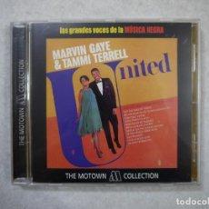 CDs de Música: MARVIN GAYE & TAMMI TERRRELL - NITED - CD 2001 . Lote 147489194