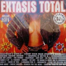 CDs de Música: EXTASIS TOTAL - 2 × CD COMPILATION, OPEN RECORDS SPAIN 1995. Lote 147489354