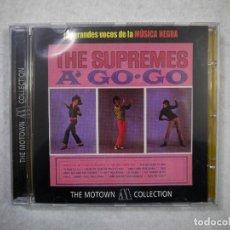 CDs de Música: THE SUPREMES - A GO GO - CD 2001 . Lote 147490594