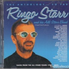 CDs de Música: RINGO STARR AND HIS ALL STARS BAND - THE ANTOLOGY SO FAR - TRIPLE CD THE BEATLES. Lote 147507482