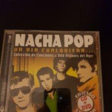 CDs de Música: CD+ DVD NACHA POP. UN DÍA CUALQUIERA. ANTONIO VEGA. Lote 147519877
