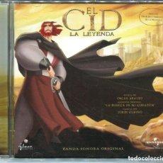 CDs de Música: EL CID: LA LEYENDA / OSCAR ARAUJO CD BSO - UNIVERSAL MUSIC, 2003 - MUY BUSCADO, DIFICILÍSIMO.. Lote 147551842