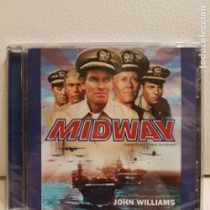 CDs de Música: MIDWAY - SOUNDTRACK - JOHN WILLIAMS - CD ÁLBUM - EDICIÓN LIMITADA 3000 COPIAS - NUEVO. Lote 147551870
