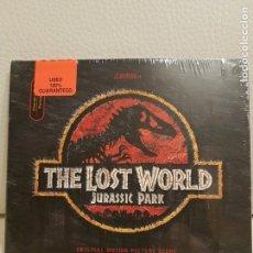 CDs de Música: JURASSIC PARK 2: EL MUNDO PERDIDO/JOHN WILLIAMS/RARO ORIGINAL SOUNDTRACK CD NUEVO. Lote 147551902