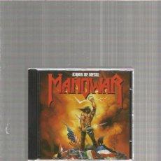 CDs de Música: MANOWAR KINGS OF METAL. Lote 147574930
