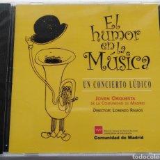 CDs de Música: EL HUMOR EN LA MÚSICA. JOVEN ORQUESTA DE LA COMUNIDAD DE MADRID. LORENZO RAMOS.. Lote 147577684