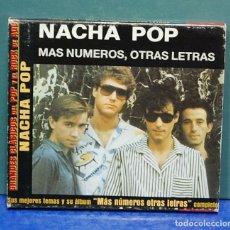 CDs de Música: LMV - NACHA POP. MÁS NÚMEROS, OTRAS LETRAS. CD. Lote 147577702