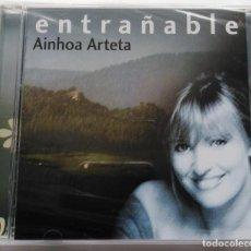 CDs de Música: AINHOA ARTETA: ENTRAÑABLE (CANCIONES VASCAS DE ARÁMBARRI, LAVILLA Y CANTELOUBE + 1O MELODÍAS VASCAS). Lote 147579018