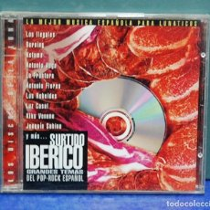 CDs de Música: LMV - LA MEJOR MÚSICA PARA LUNATICOS, GRANDES TEMAS DEL POP-ROCK ESPAÑOL. CD . Lote 147579622