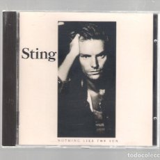 CDs de Música: STING - NOTHING LIKE THE SUN (CD 1997, A&M RECORDS 393912-2). Lote 147580058