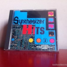 CDs de Música: CD. SYNTHESIZER HITS. 3. Lote 147600652