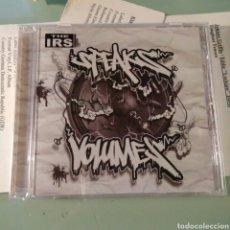 CDs de Música: THE IRS – SPEAKS IN VOLUMES. Lote 147625566
