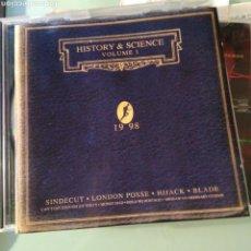 CDs de Música: VARIOUS – HISTORY & SCIENCE VOLUME 1. Lote 147627438