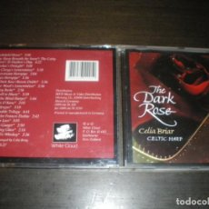 CDs de Música: CELIA BRIAR, THE DARK ROSE, ARPA CELTA. Lote 147634414