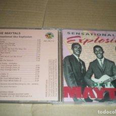 CDs de Música: THE MAYTALS, SENSATIONAL SKA EXPLOSION, SKA DEL BUENO. Lote 147635598
