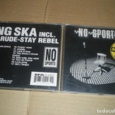 CDs de Música: NO SPORTS, KING SKA, SKA ALEMAN DE LOS 90. Lote 147637250