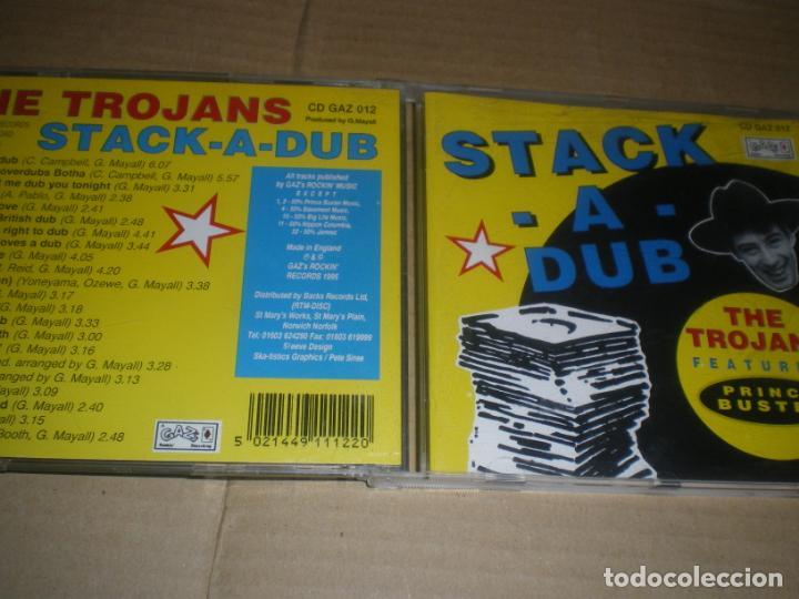 THE TROJANS, STACK A DUB, BUEN SKA BRITANICO DE LOS 90 (Música - CD's Reggae)