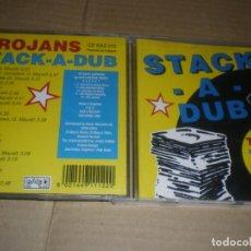 CDs de Música: THE TROJANS, STACK A DUB, BUEN SKA BRITANICO DE LOS 90. Lote 147637358