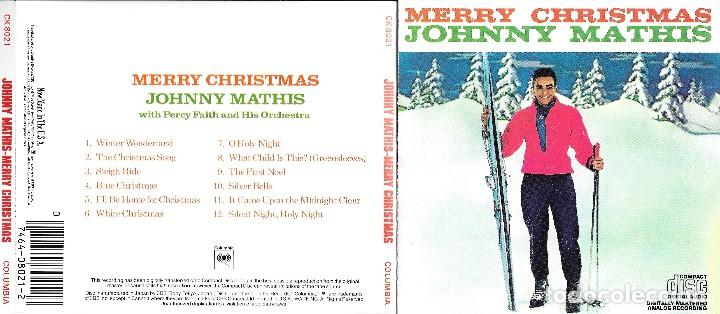 JOHNNY MATHIS - MERRY CHRISTMAS (Música - CD's Melódica )