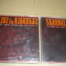 CDs de Música: SKANDALO AL SOLE, GRUPOS ITALIANOS SKA DE LOS 90. Lote 147638306