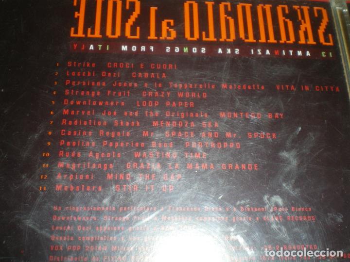 CDs de Música: SKANDALO AL SOLE, GRUPOS ITALIANOS SKA DE LOS 90 - Foto 2 - 147638306