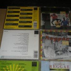 CDs de Música: 3 CD COLECCION THE ROOTS OF REGGAE, CLASICOS BASICOS. Lote 147638886