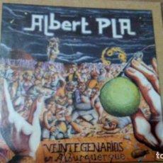 CDs de Música: ALBERT PLA VEINTEGENARIOS EN ALBURQUERQUE CD. Lote 147639578