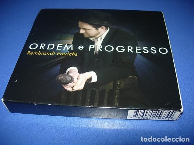 REMBRANDT FRERICHS ?– ORDEM E PROGRESSO 2 × CD, ALBUM FIRMADO POR EL AUTOR (Música - CD's Otros Estilos)