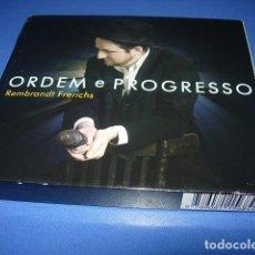 CDs de Música: REMBRANDT FRERICHS ?– ORDEM E PROGRESSO 2 × CD, ALBUM FIRMADO POR EL AUTOR. Lote 147658838