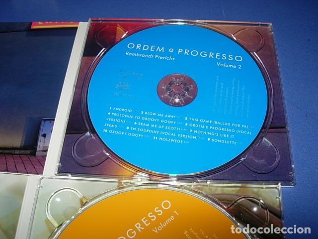CDs de Música: Rembrandt Frerichs ?– Ordem E Progresso 2 × CD, Album Firmado por el autor - Foto 2 - 147658838